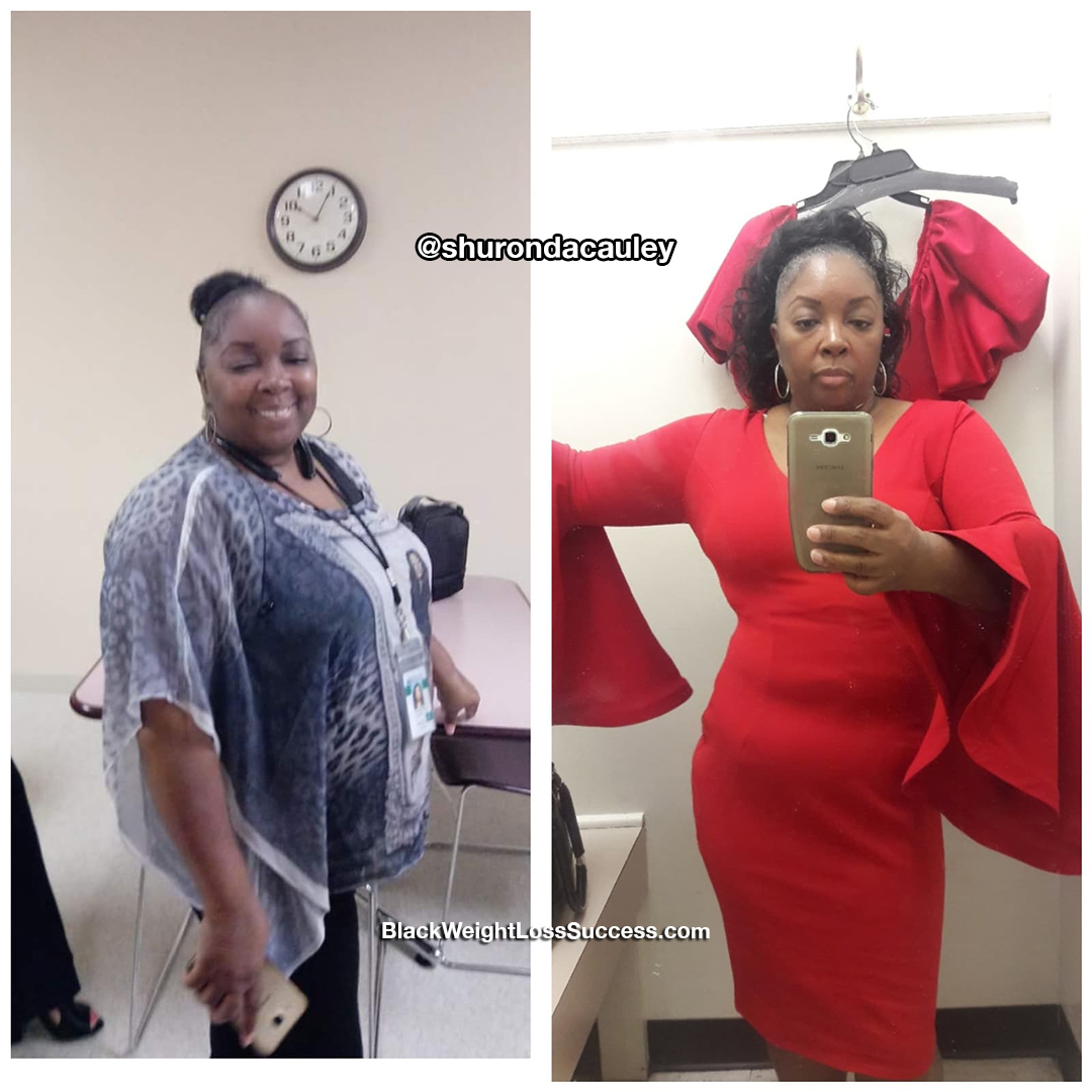 Shuronda before and after