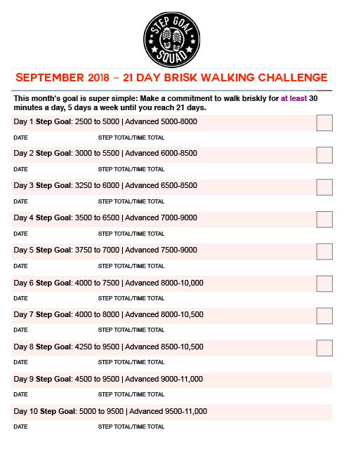 tracking calendar Sept