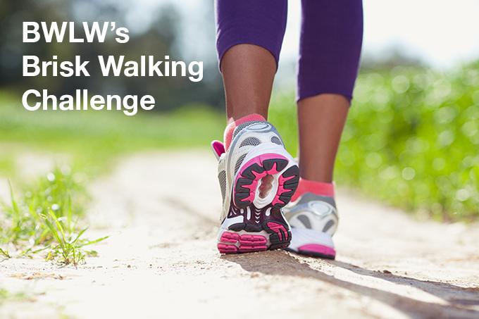 BWLW brisk walking challenge