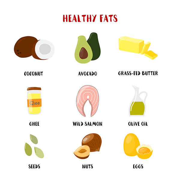 keto healthy fats