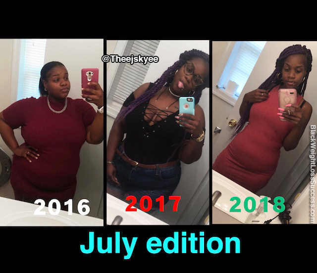 Janay before and after