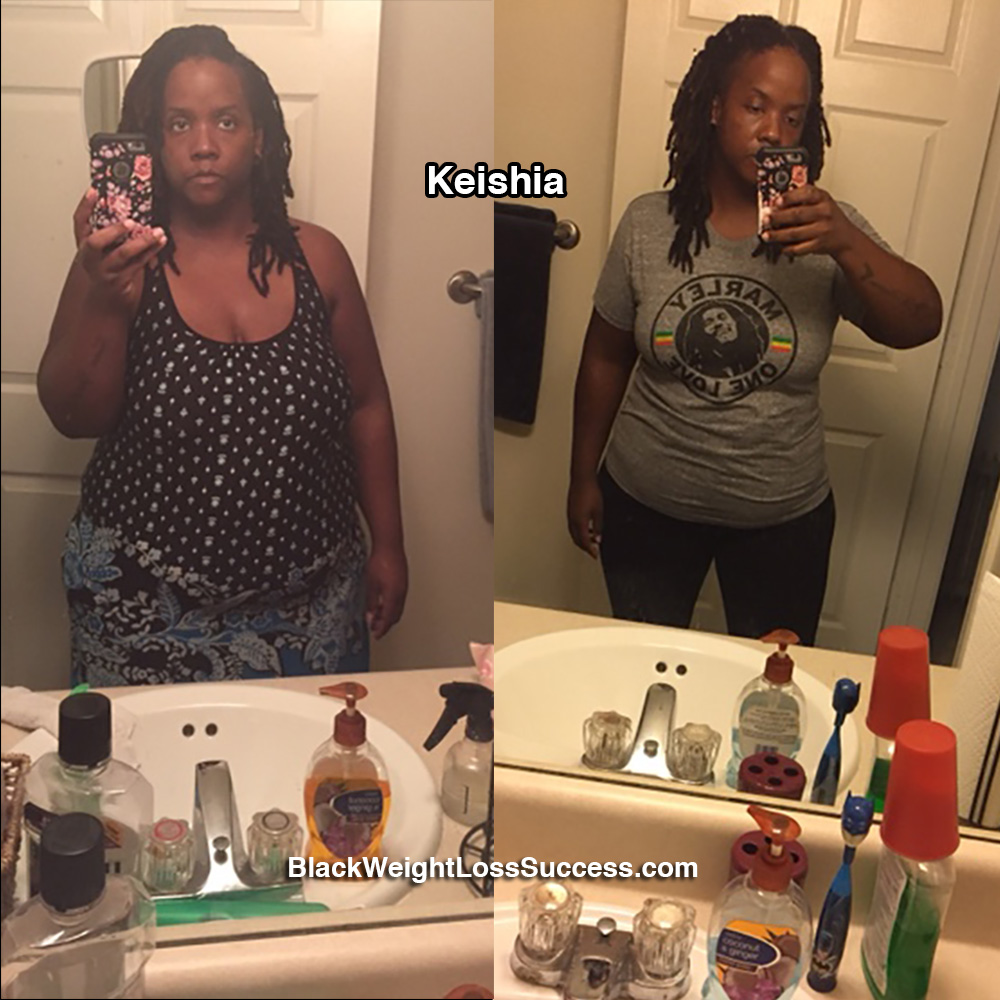 keishia before and after