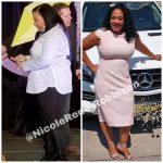 Nicole lost 34 pounds