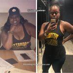 Keisha lost 47 pounds
