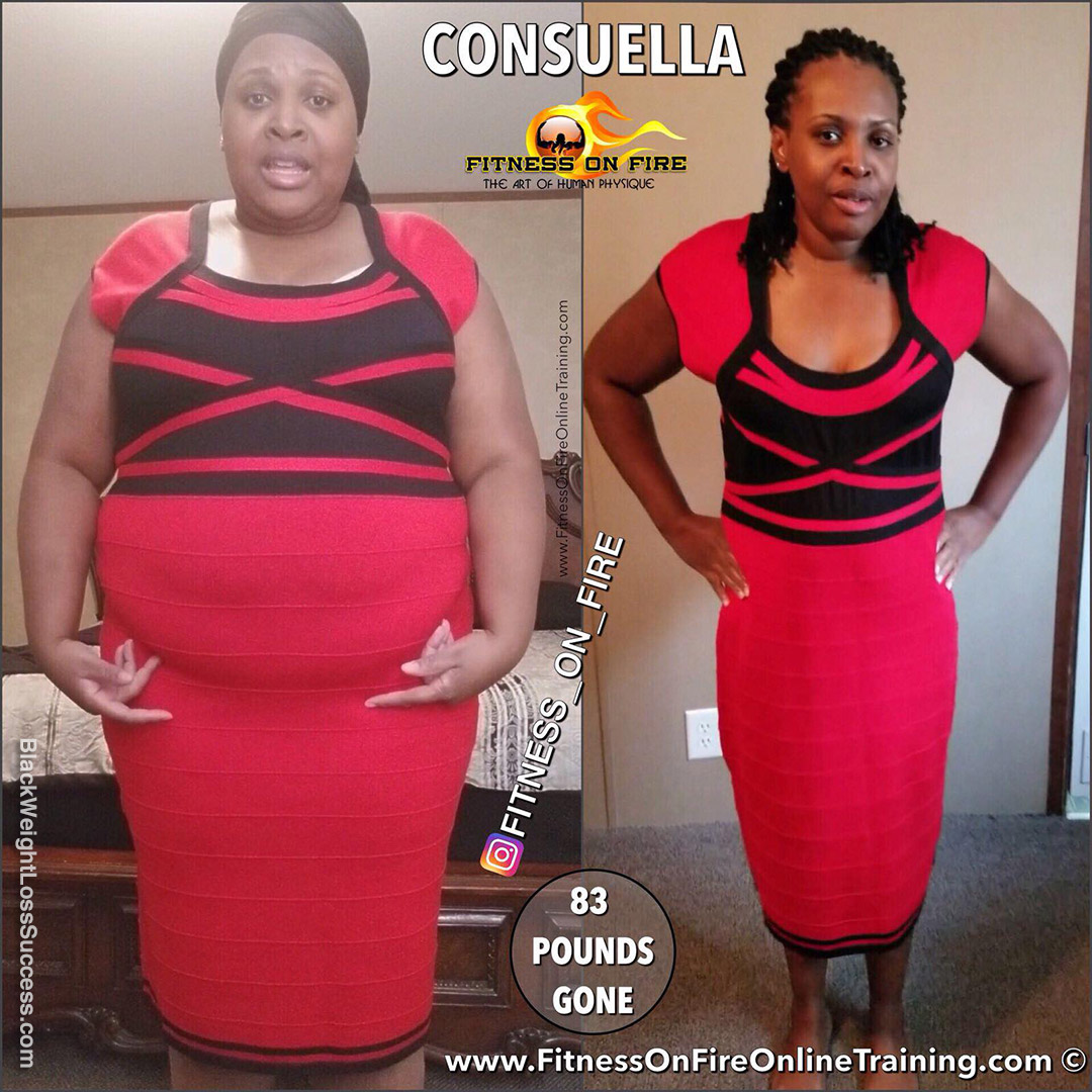 Consuella before and after