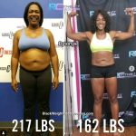 Dytonya lost 57 pounds