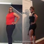 Latrecia lost 35 pounds