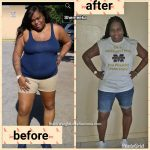 Shemeeka lost 40 pounds