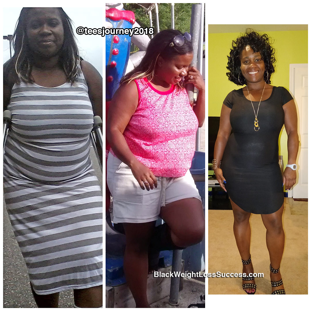 Tellesha before and after