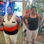 LaTausha lost 22 pounds