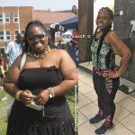 Natasha lost 100 pounds