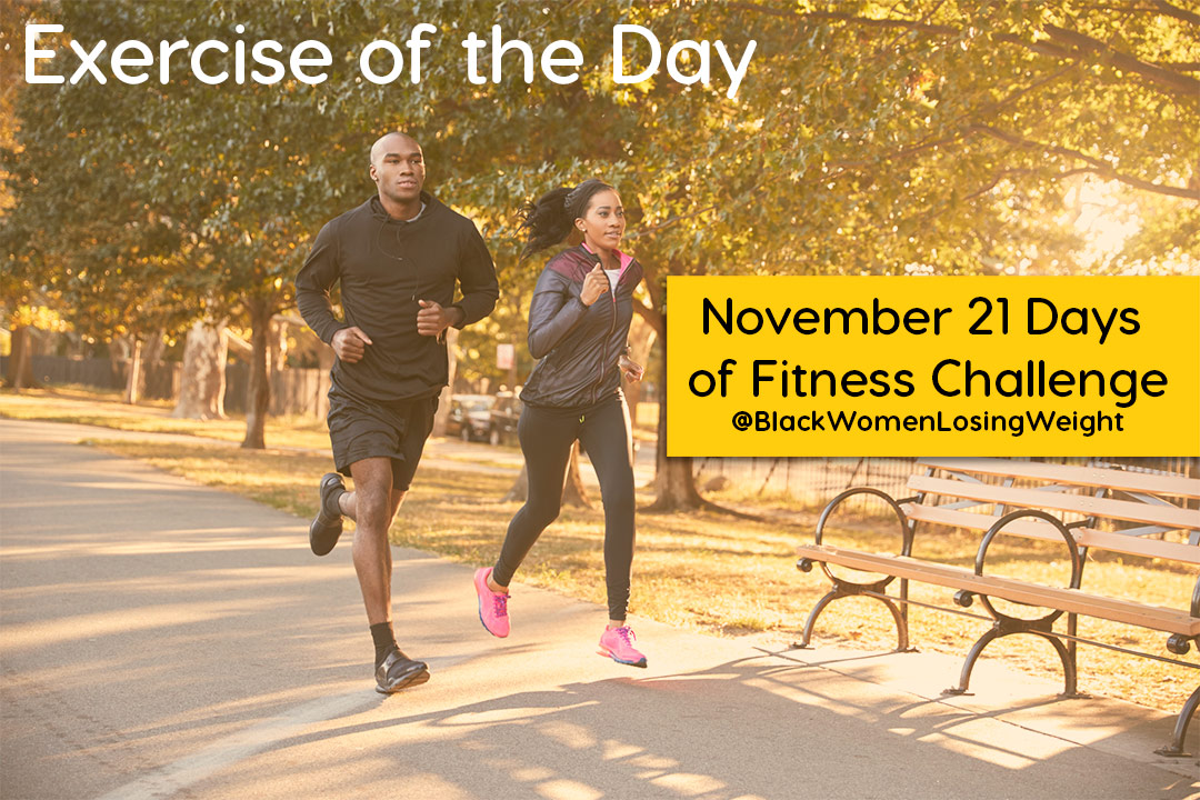 nov challenge exercise of the day