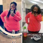 Update: Amanda lost 35 pounds