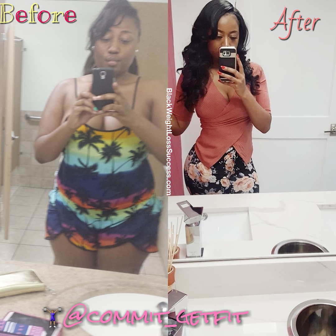 Clarissa before and after