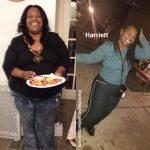 Harriett lost 207 pounds