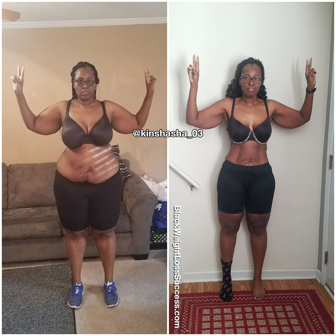 Kinshasha before and after