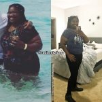 Tiana lost 50 pounds