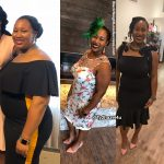 Tyiesha lost 48 pounds