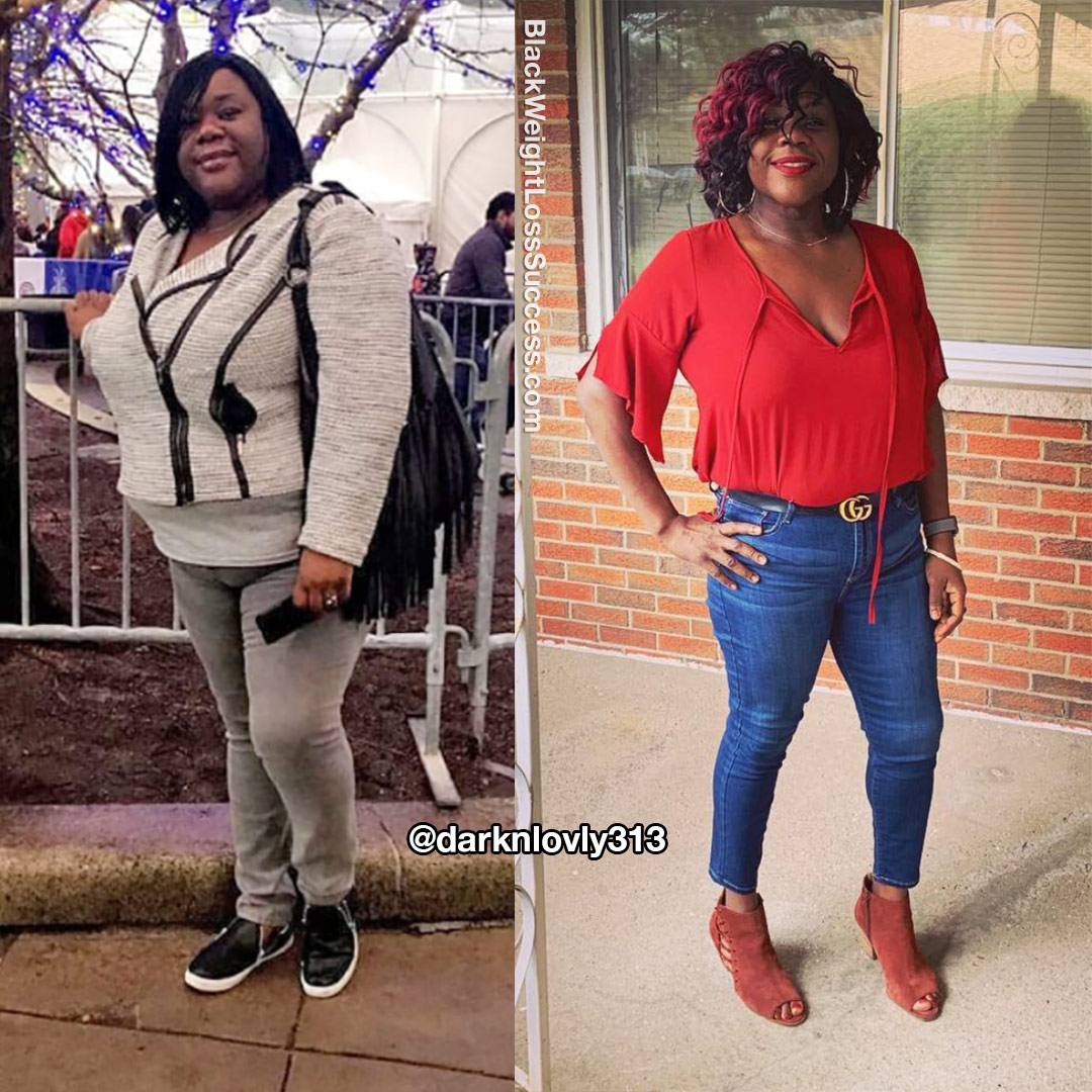 Jamcia before and after