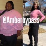 Amber before and after
