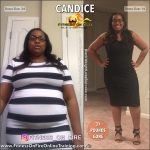 Candice before and after