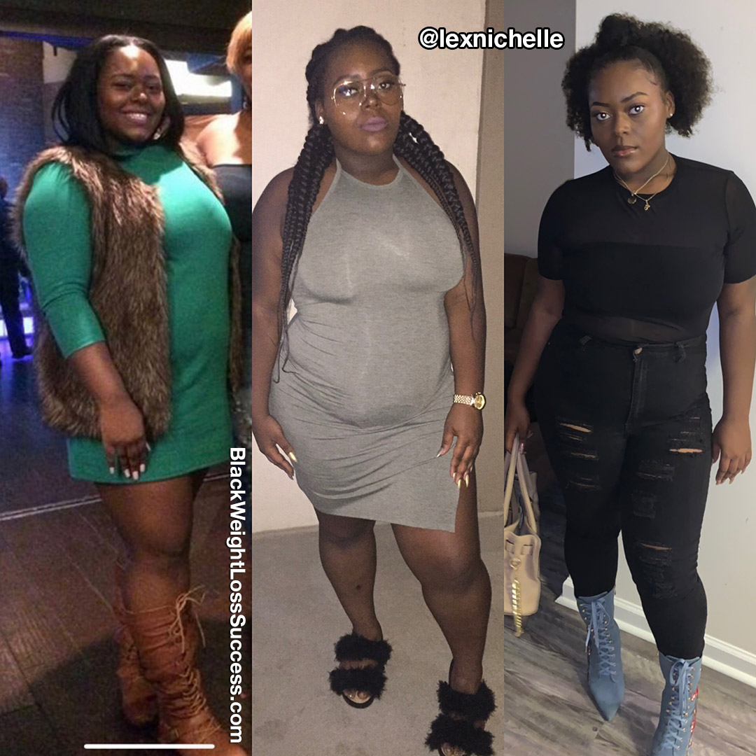 Alexus before and after