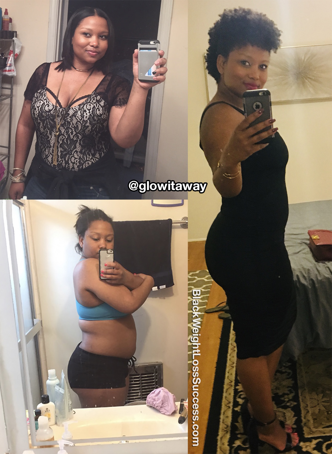 Alicia before and after
