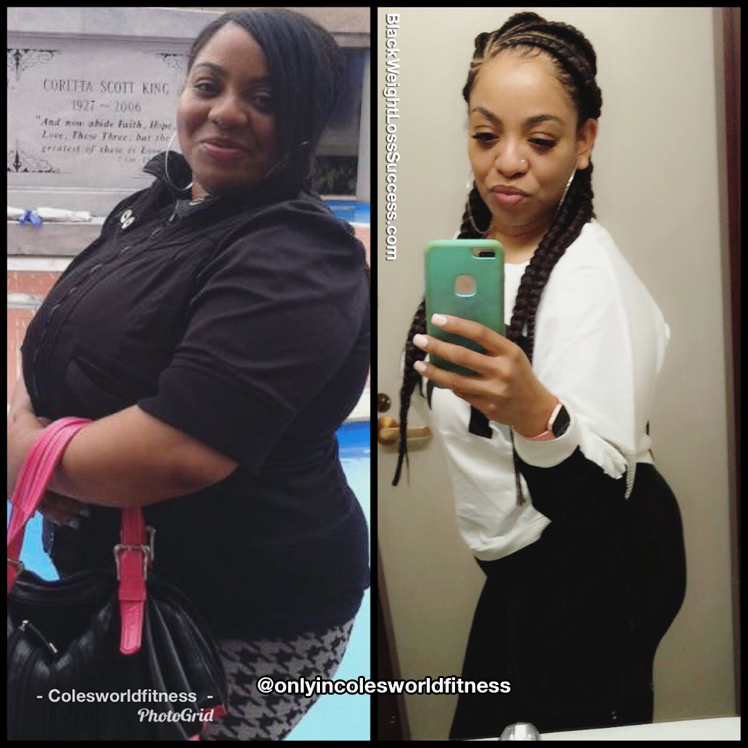 LaCole before and after