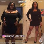 Symone before and after