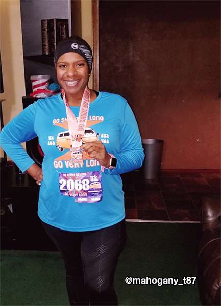 Mahogany's first 5k