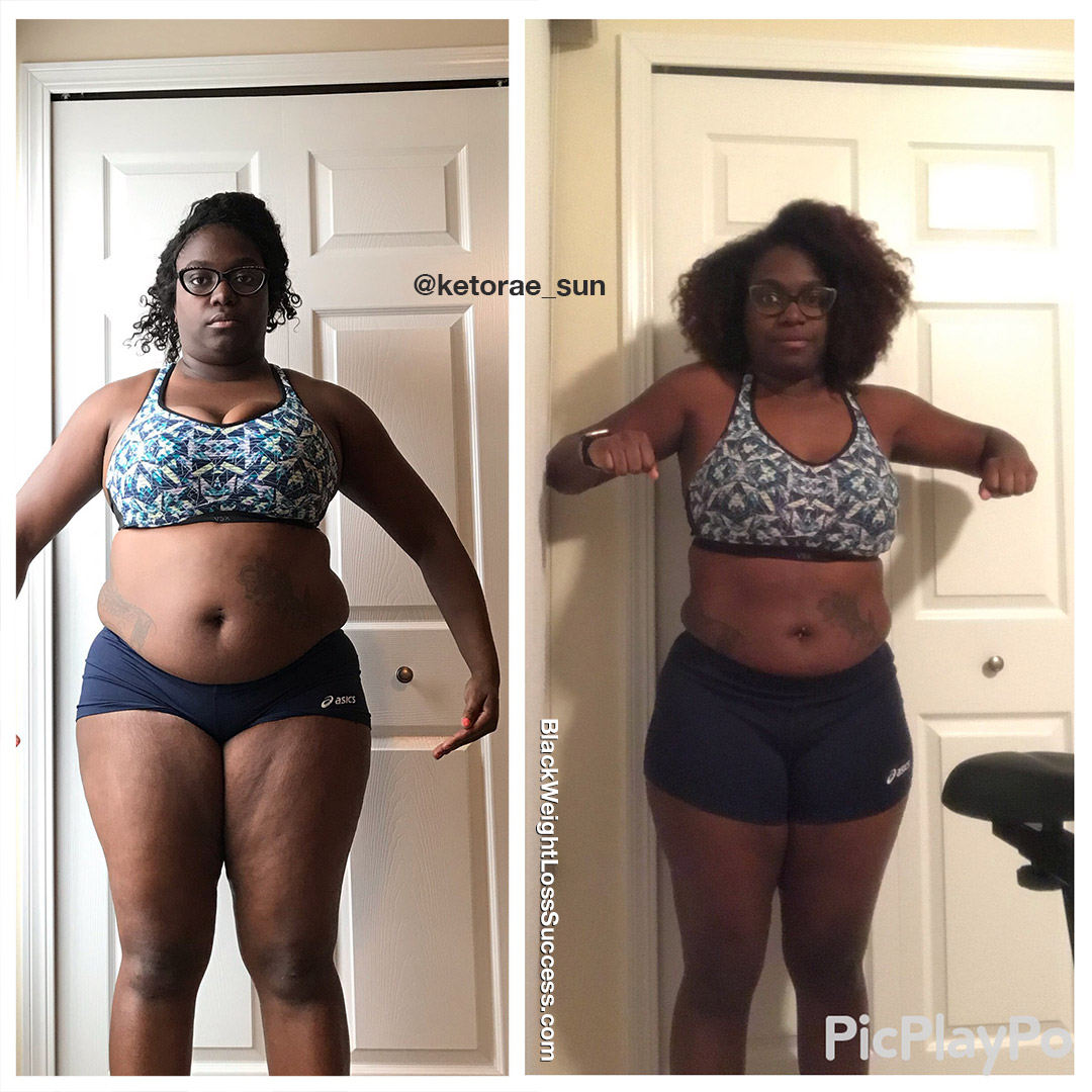 Rae before and after