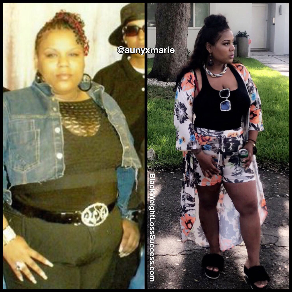 Aunyx weight loss journey