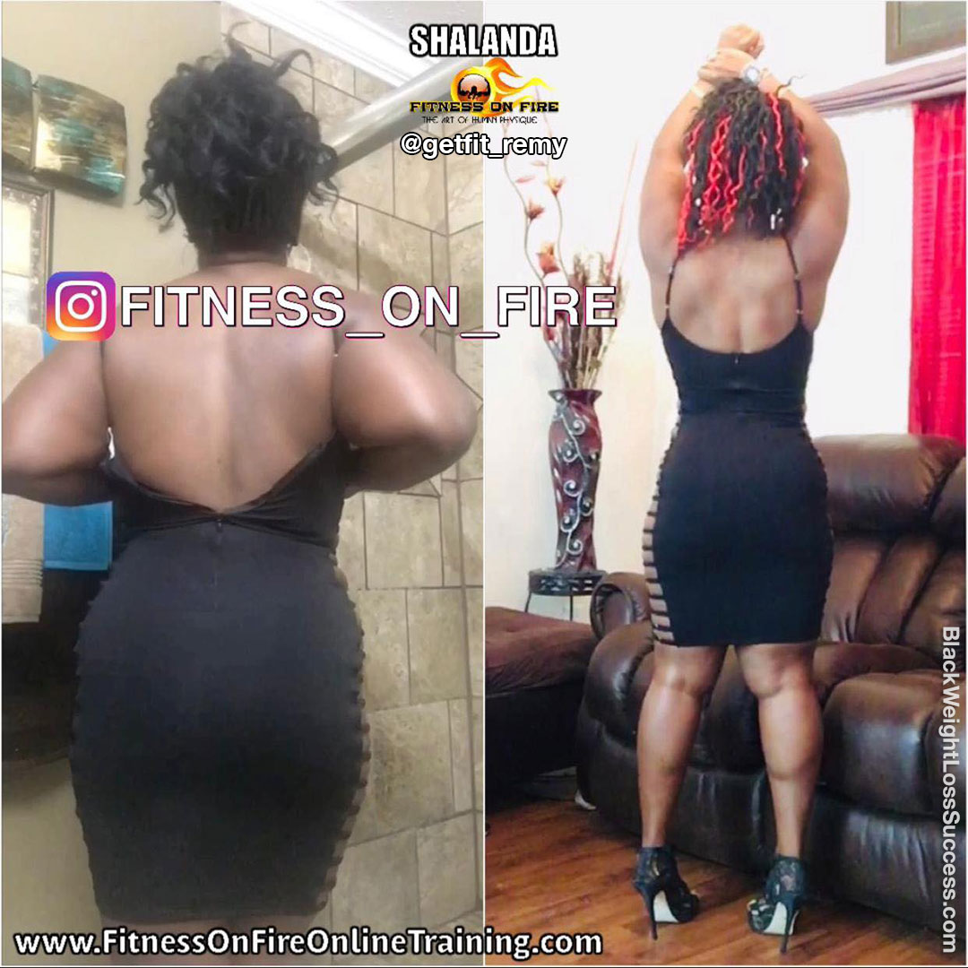 Shalanda before and after