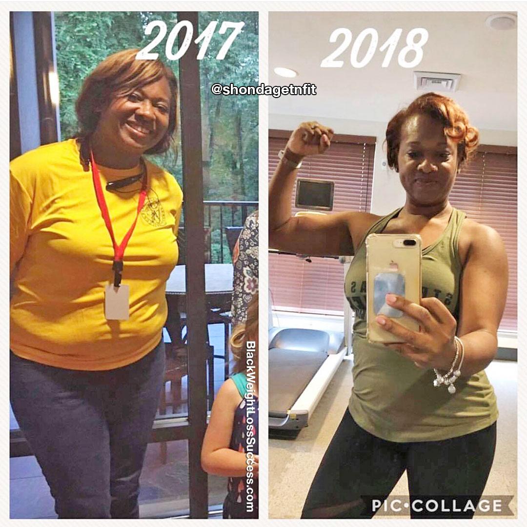 LaShonda before and after