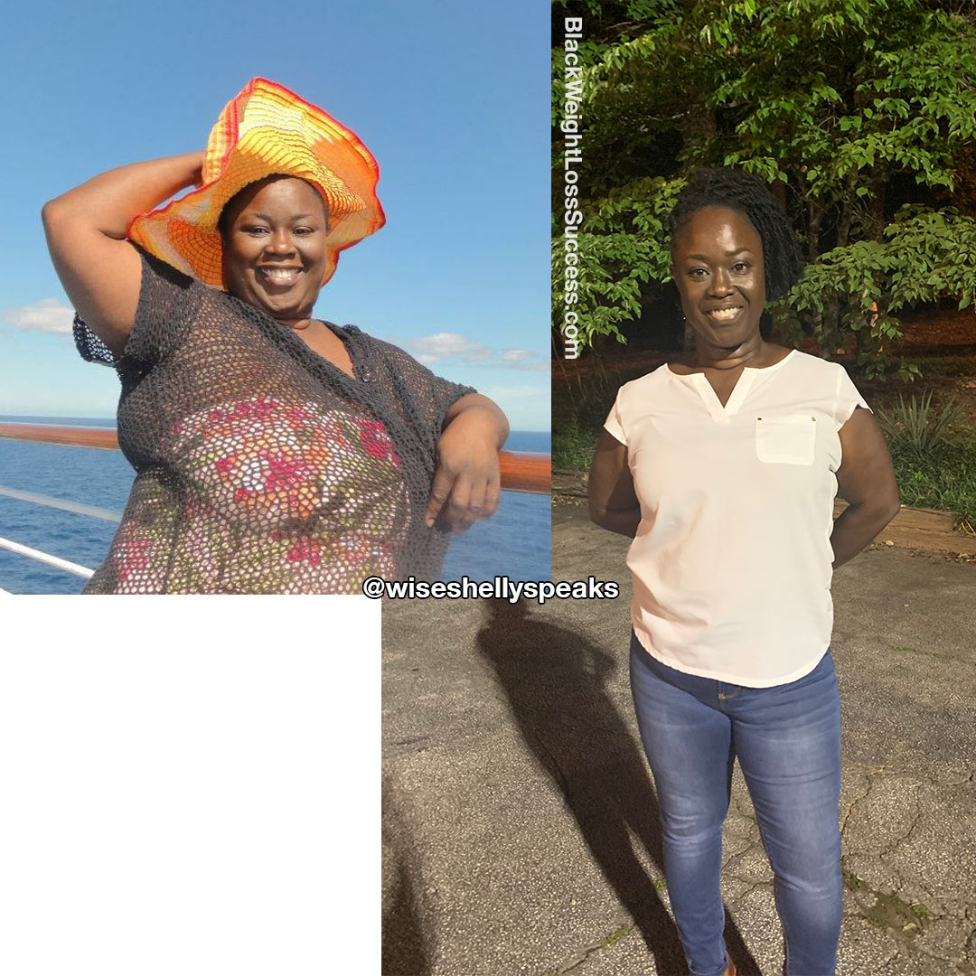 Shelly before and after