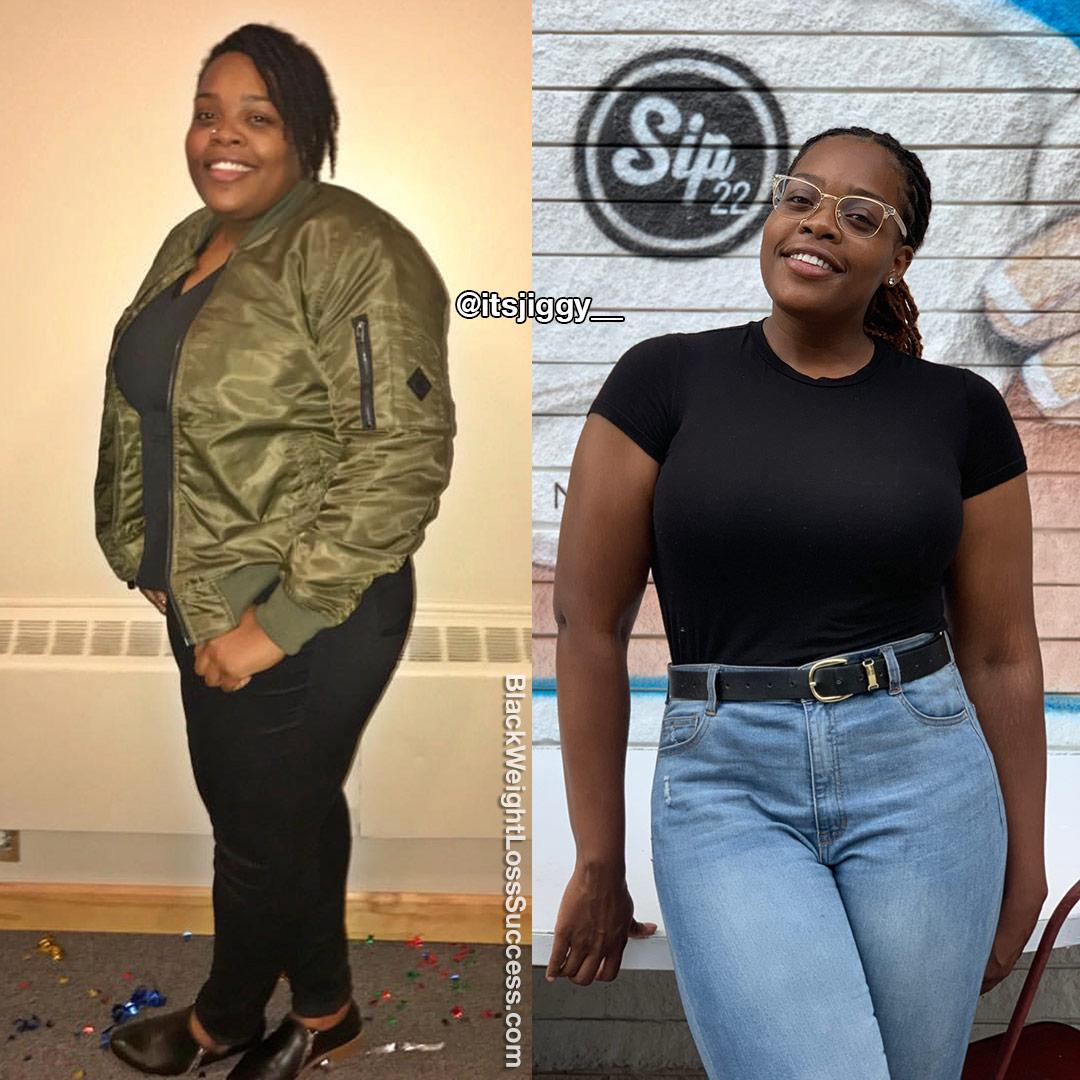 Alisha before and after