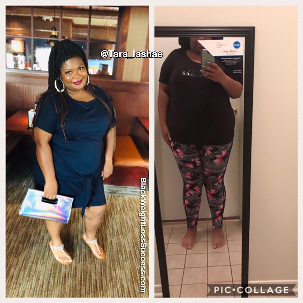 Tara before and after