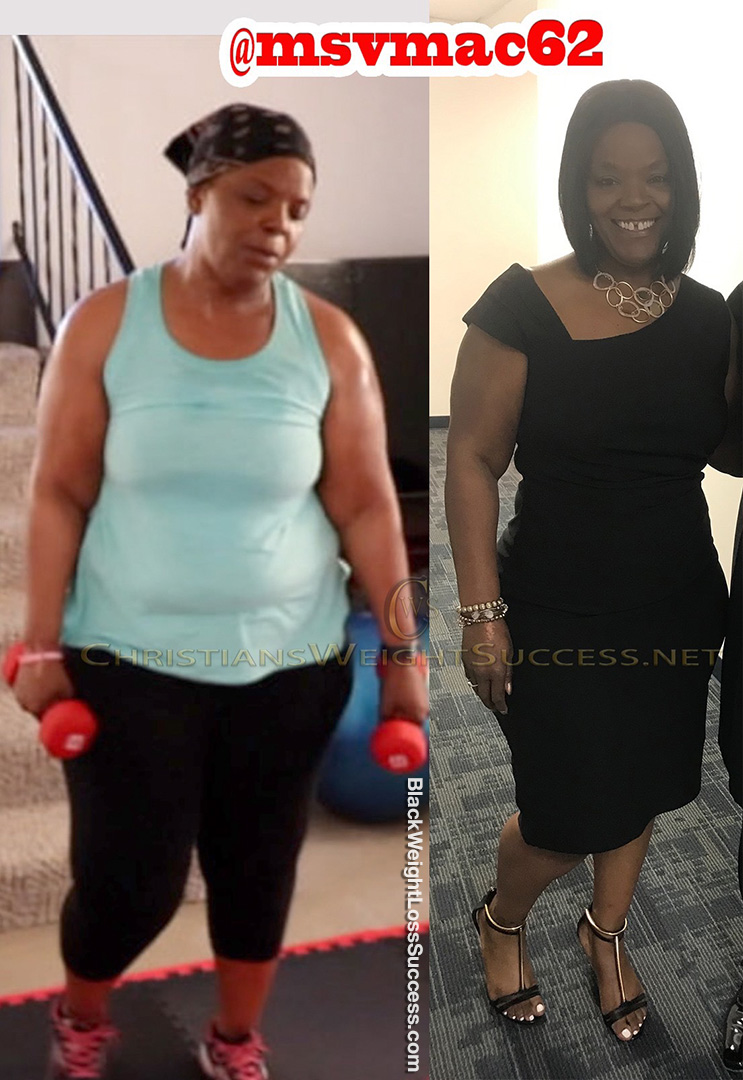 Vickie before and after