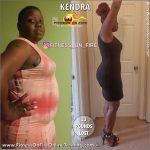Kendra before and after