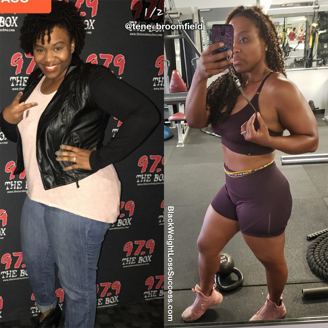 Tene before and after