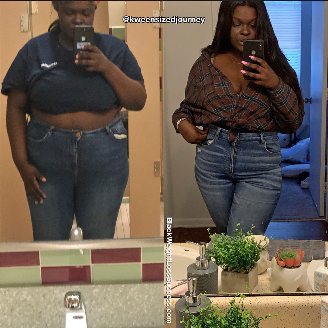 Keesha before and after