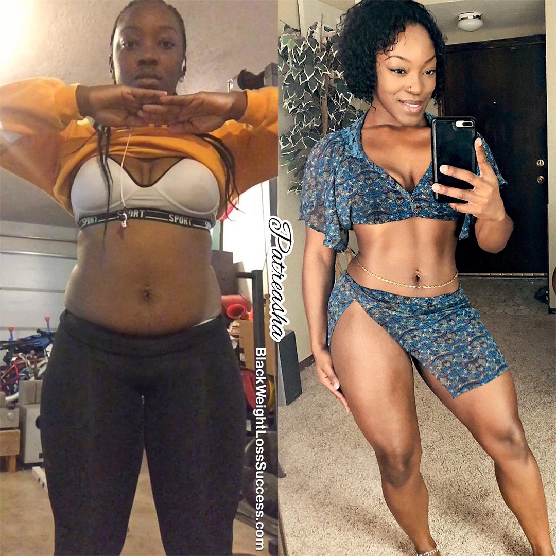 Patreasha before and after