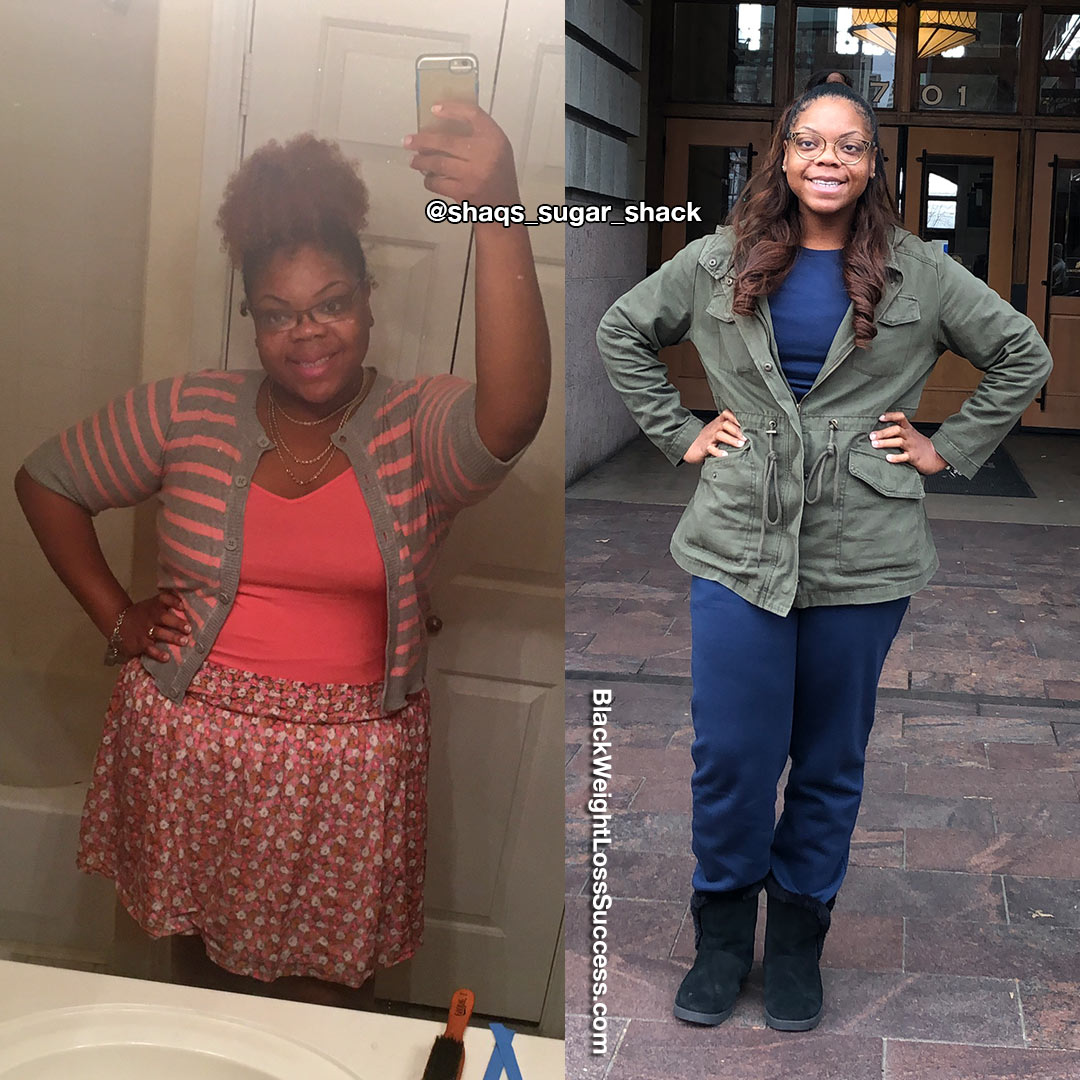Shaquille before and after