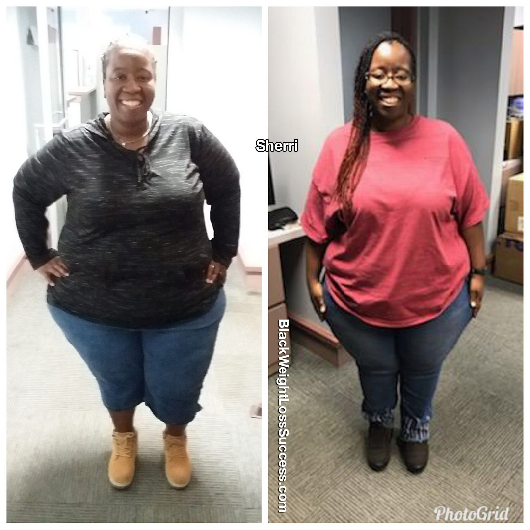 Sherri before and after