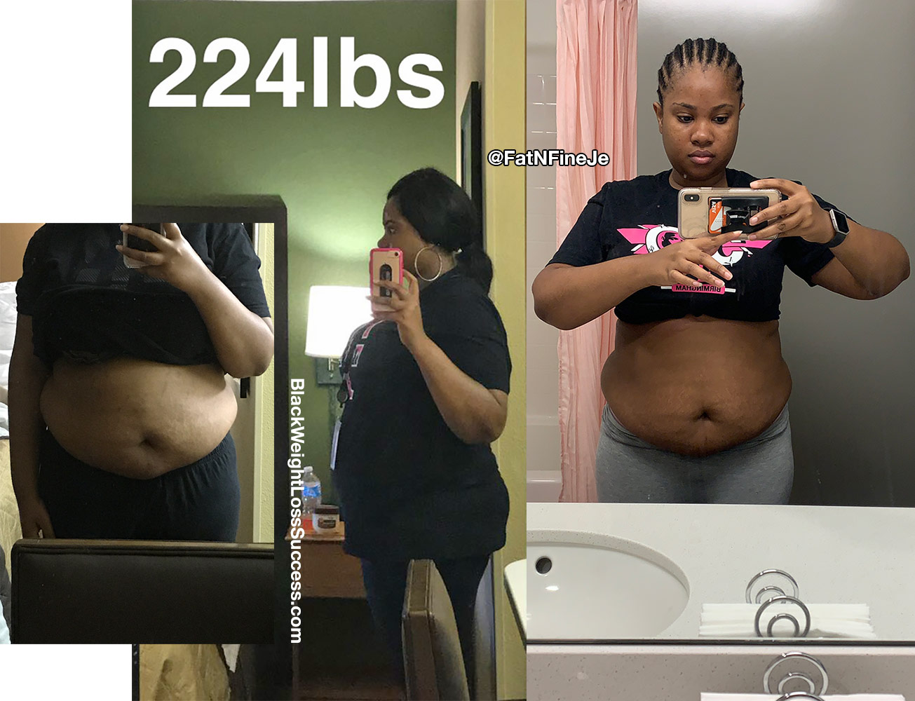 Je'Tara weight loss story