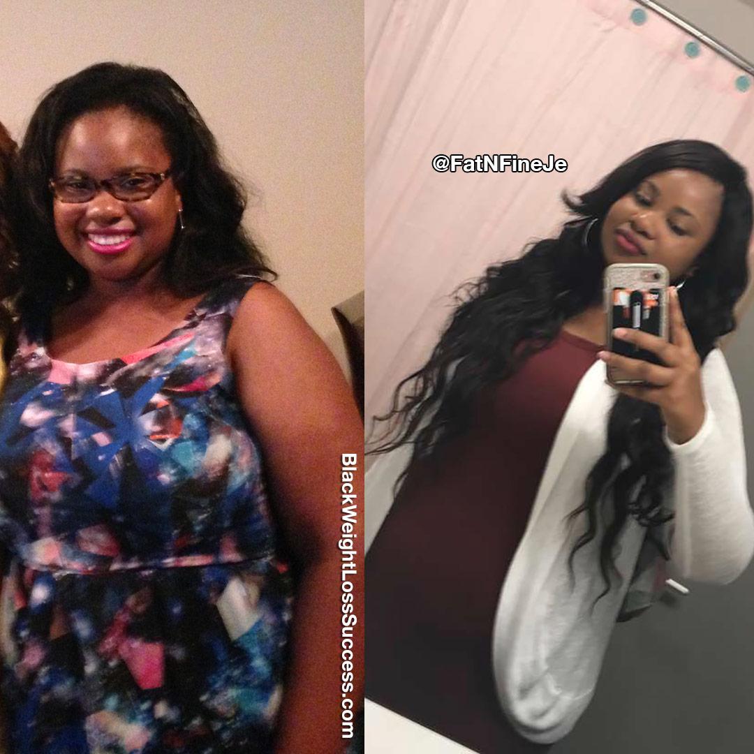 Je'Tara weight loss journey