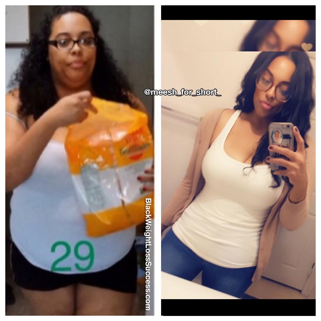 Mesha weight loss story