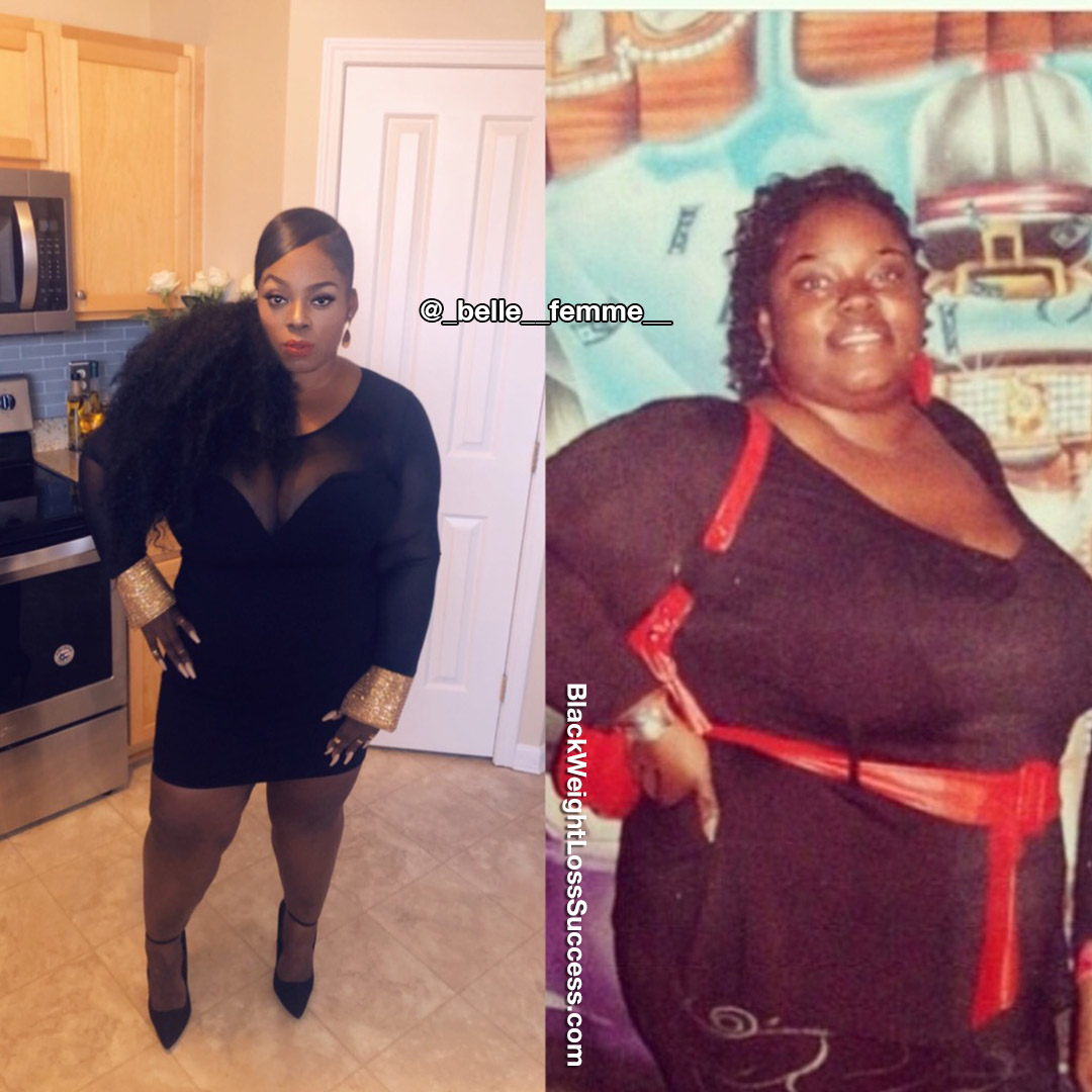 Tiffany lost 109 pounds