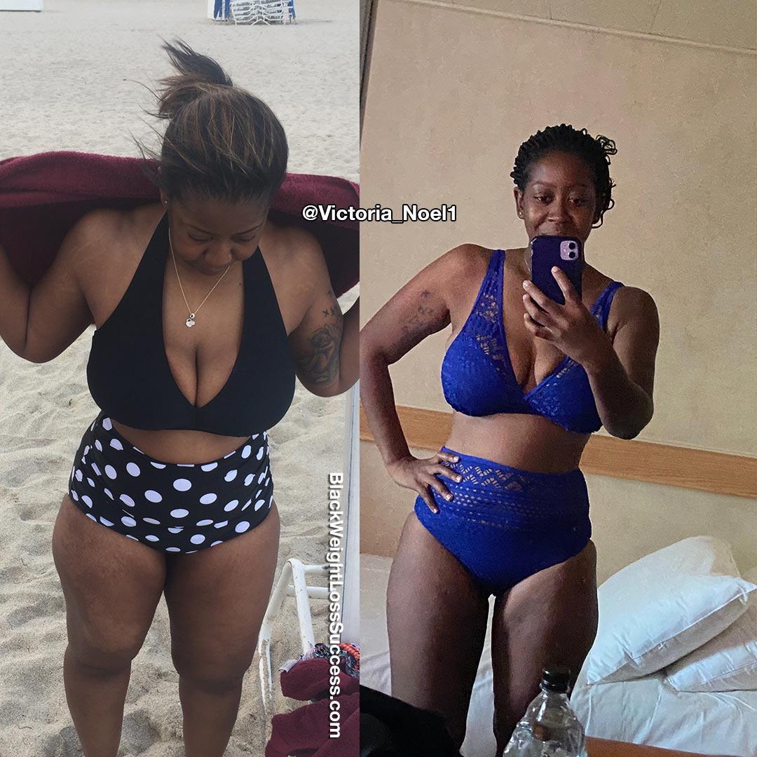 Victoria weight loss journey