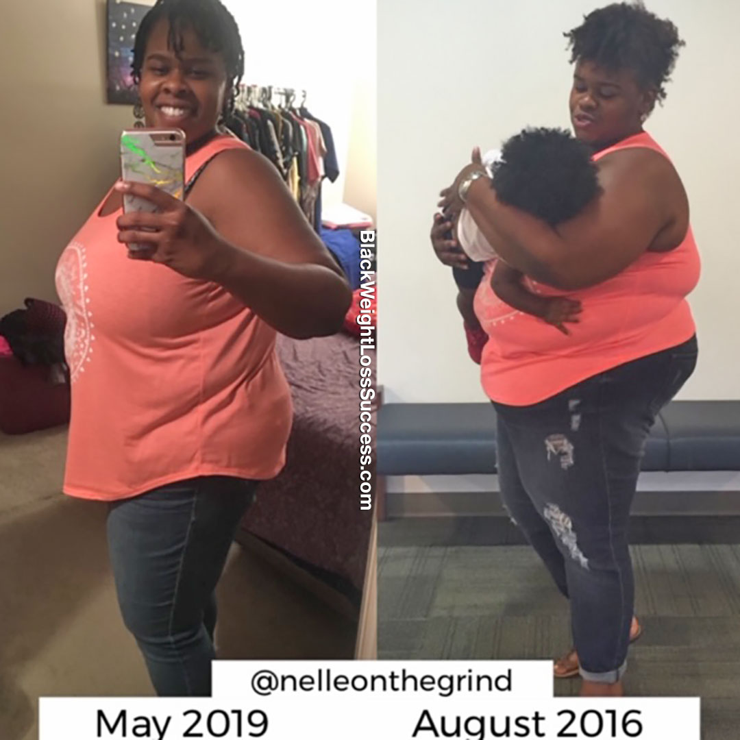 Jenelle weight loss journey